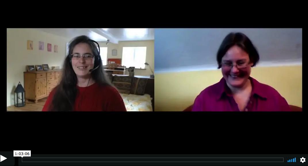 Achtsamkeit im Alltag: Mona Schäfer und Tina Hillebrand im Gespräch
